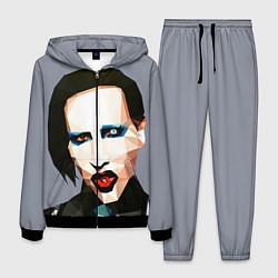 Костюм мужской Mаrilyn Manson Art цвета 3D-черный — фото 1
