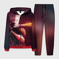 Костюм мужской Juggernaut цвета 3D-красный — фото 1