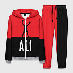 Костюм мужской Ali Boxing цвета 3D-меланж — фото 1