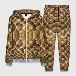 Костюм мужской Змеиная кожа цвета 3D-меланж — фото 1