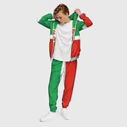Костюм мужской Татарстан: флаг цвета 3D-меланж — фото 2
