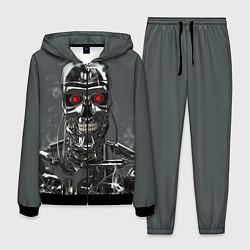 Костюм мужской Скелет Терминатора цвета 3D-черный — фото 1
