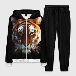 Костюм мужской Poly Tiger цвета 3D-белый — фото 1