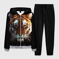 Костюм мужской Poly Tiger цвета 3D-меланж — фото 1