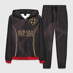 Костюм мужской Ninjas in Pyjamas: Uniform цвета 3D-красный — фото 1