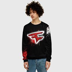 Свитшот мужской FaZe Clan: Black collection цвета 3D-черный — фото 2
