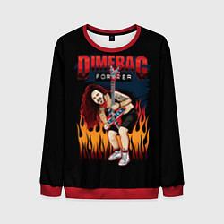 Свитшот мужской Pantera: Dimetag Forever цвета 3D-красный — фото 1