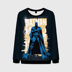 Свитшот мужской Batman цвета 3D-черный — фото 1