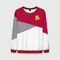 Свитшот мужской AS Roma Red Design 2122 цвета 3D-красный — фото 1