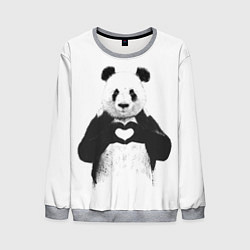 Мужской свитшот Panda Love