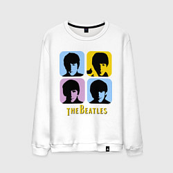 Мужской свитшот The Beatles: pop-art