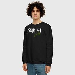 Свитшот хлопковый мужской Sum 41 цвета черный — фото 2