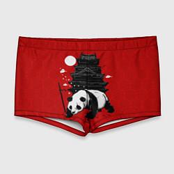 Мужские плавки Panda Warrior цвета 3D — фото 1