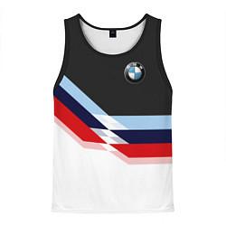 Майка-безрукавка мужская BMW M SPORT цвета 3D-черный — фото 1