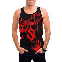 Майка-безрукавка мужская Sabaton цвета 3D-черный — фото 2
