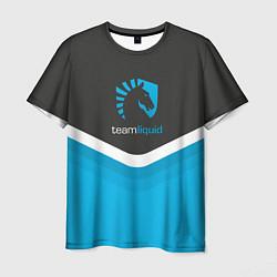 Футболка мужская Team Liquid Uniform цвета 3D — фото 1