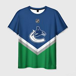 Футболка мужская NHL: Vancouver Canucks цвета 3D-принт — фото 1