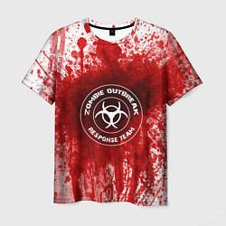 Мужская 3D-футболка с принтом Zombie Outbreak, цвет: 3D, артикул: 10115544803301 — фото 1