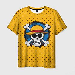 Футболка мужская One Pirate цвета 3D — фото 1