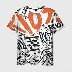 Футболка мужская Paramore: Riot цвета 3D — фото 1