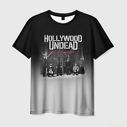 Футболка мужская Hollywood Undead: Day of the dead цвета 3D-принт — фото 1