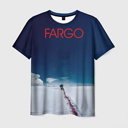 Футболка мужская Fargo цвета 3D — фото 1