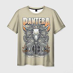 Футболка мужская Pantera: Wild Goat цвета 3D-принт — фото 1