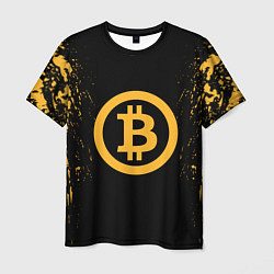 Футболка мужская Bitcoin Master цвета 3D-принт — фото 1