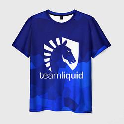 Футболка мужская Team Liquid: Polygons цвета 3D — фото 1