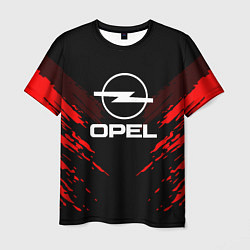 Футболка мужская Opel: Red Anger цвета 3D — фото 1