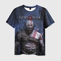Футболка мужская God of War: Kratos цвета 3D — фото 1
