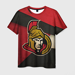 Футболка мужская HC Ottawa Senators: Old Style цвета 3D — фото 1