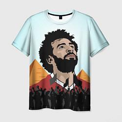 Футболка мужская Salah: Egypt King цвета 3D-принт — фото 1