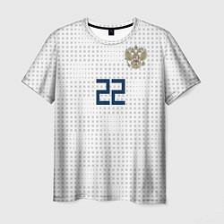 Футболка мужская Дзюба ЧМ-2018 цвета 3D — фото 1