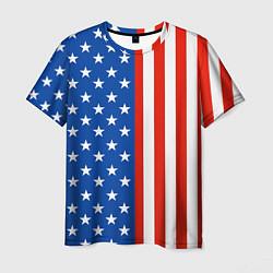 Футболка мужская American Patriot цвета 3D — фото 1