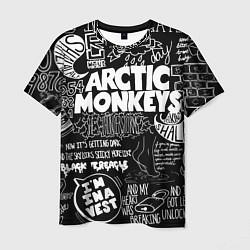 Футболка мужская Arctic Monkeys: I'm in a Vest цвета 3D-принт — фото 1