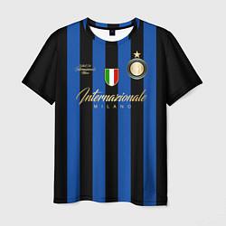 Футболка мужская Internazionale Milano цвета 3D — фото 1