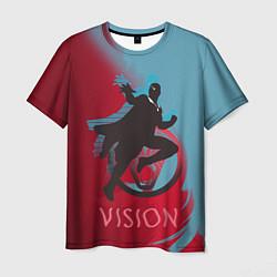 Футболка мужская Vision Duo цвета 3D — фото 1