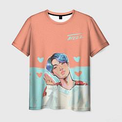 Мужская 3D-футболка с принтом Ateez, цвет: 3D, артикул: 10194997903301 — фото 1