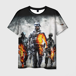 Футболка мужская Battlefield цвета 3D-принт — фото 1
