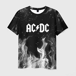 Мужская 3D-футболка с принтом AC DC, цвет: 3D, артикул: 10207128703301 — фото 1