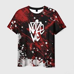 Футболка мужская Noize MC цвета 3D-принт — фото 1