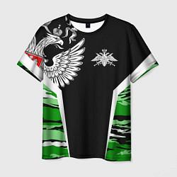 Футболка мужская Пограничные Войска цвета 3D-принт — фото 1
