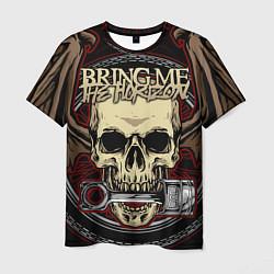 Мужская 3D-футболка с принтом Bring Me the Horizon, цвет: 3D, артикул: 10209771703301 — фото 1