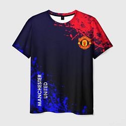 Футболка мужская Manchester United цвета 3D — фото 1