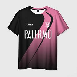 Мужская 3D-футболка с принтом PALERMO FC, цвет: 3D, артикул: 10258718703301 — фото 1
