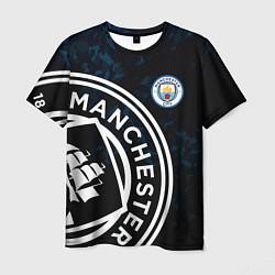 Футболка мужская Manchester City цвета 3D-принт — фото 1