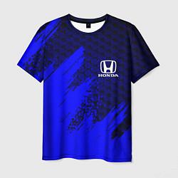 Футболка мужская HONDA цвета 3D — фото 1