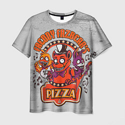 Футболка 3D мужская Freddy Pizza - фото 1
