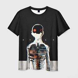 Футболка мужская Three Days Grace: Skeleton цвета 3D — фото 1
